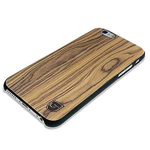 Custodia in legno Apple iPhone 6 / 6s ** Vero Legno - Ultra Sottile ** Design Unico ** Perfect Fit ** Cover Bumper UTECTION® Noce