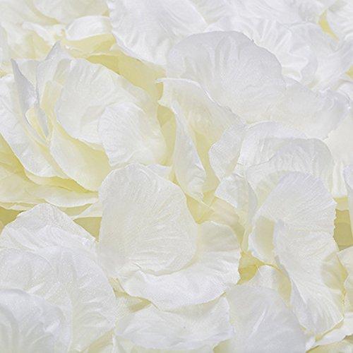 guoyihua 1000Stück Vlies Rose Petals Hochzeit Party Flower Gastgeschenken Rose Blütenblätter Hochzeit Dekoration, Nicht gewebt, 07#, 5 * 5cm