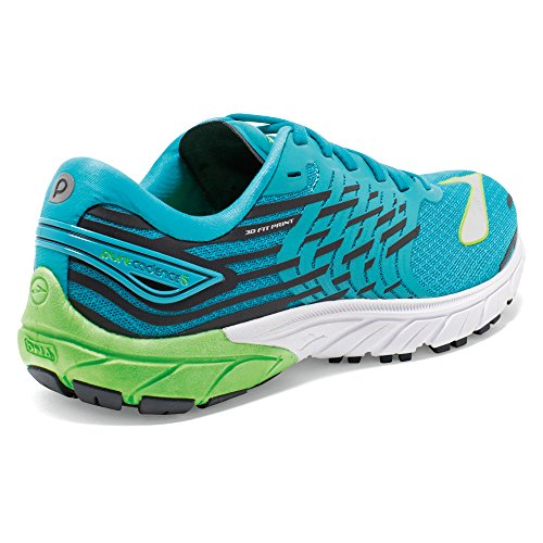 Brooks Damen Purecadence 5 Laufschuhe blau - weiß - grün