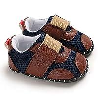 ETbotu baby meisje schoenen - baby schoenen, baby geschenken,0-1 Jaar Baby Baby Baby Jongens Zachte Rubber zool Schoenen Sport Mesh Doek Ademhalingsschoenen met Magic Sticker