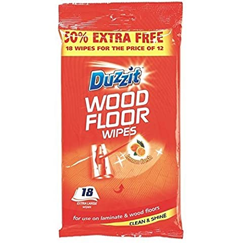 48 Wood Floor Wipes Jumbo/2 packs of 24