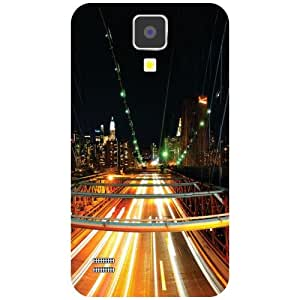 Samsung I9500 Galaxy S4-Highway Matte Finish Phone Cover
