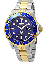 invicta 3049 - Reloj analógico automático para hombre con correa de acero inoxidable, color plateado