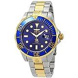 Invicta 3049 Pro Diver Herren Uhr Edelstahl Automatik blauen Zifferblat
