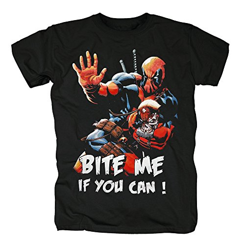 TSP Deadpool - Bite me T-Shirt Herren S ()