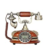 qq Inicio Arte Adornos Teléfono Antiguo Dormitorio Dormitorio Casa Soft Suit Button Machine