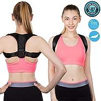 Haltungskorrektur Rücken Heaskei Geradehalter Schulter Rückenstütze für Damen und Herren