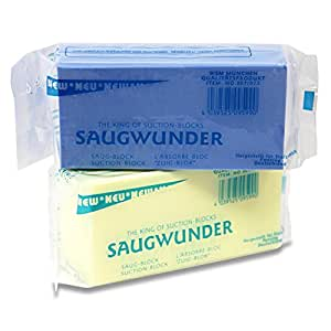 4x Saugwunder Schwamm Saugblock extra superstark