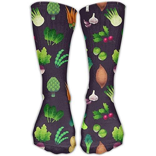 Damen Affe Kostüm Socke - ncnhdnh Vegetable Vegan Farmers MarketUnisex Comfortable Casual Crew Socks Sport Socks