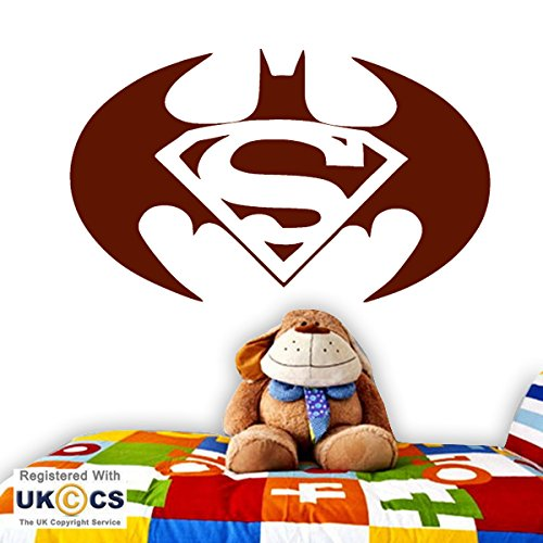 (Superheld Bat Super Man kühle Kinder Schlafzimmer-Wand-Kunst-Aufkleber-Abziehbild-Vinyl Raum Schlafzimmer Jungen Mädchen Kinder Erwachsene Heim Wohnzimmer Zitate Küche Badezimmer Wandaufkleber)