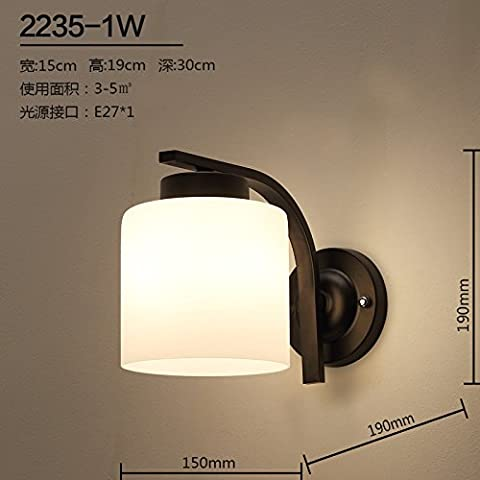 midtawer Le camere da letto sono eleganti e di classe corridoio soggiorno ristorante personalità creative ,2235-1W luci da parete