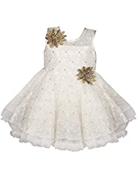 Wish Karo Baby Girls Frock Birthday Dress for Girls - Net - (bxa06)