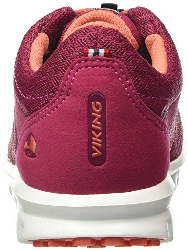 Viking Unisex-Kinder Maverick Low-Top Pink (Fuchsia/Coral 1751)