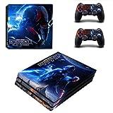 CIVIQ Star Wars Battlefront 2 PS4 Pro Skin Sticker für Sony Playstation 4 Konsole und Controller PS4 Pro Skin Vinyl