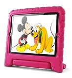 Lavolta Eva Ständer Kinder Case Stoßfest Schutzhülle für Apple iPad 2 3 4 Neu Retina Tablet PC - Rosa