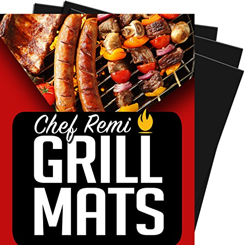 Latest BBQ Grill Mats - Set Of 2 Heavy Duty, Non-Stick Grilling Mat - 16 x 13 Inch - Use on Gas Grills , Charcoal or Electric Barbecues, Kitchen Oven or Your Smoker - Lifetime Replacement Warranty