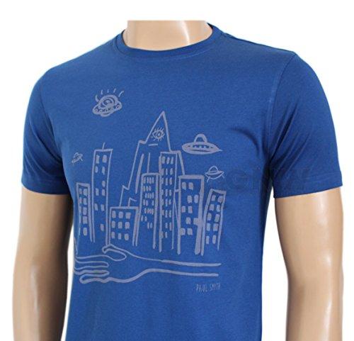 Paul Smith Herren T-Shirt Blau