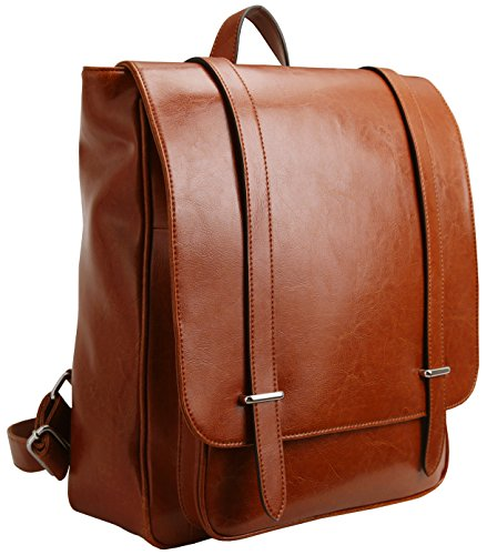 iswee-leather-laptop-backpacks-unisex-purse-and-handbags-for-mens-womens-fit-14in-laptop-daypack