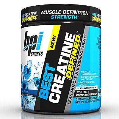 BPI Sports Creatine Defined, Blue Raspberry, 300 g from BPI Sports