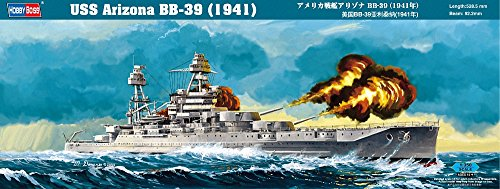 Hobby Boss 86501 Modellbausatz USS Arizona BB-39 (1941)