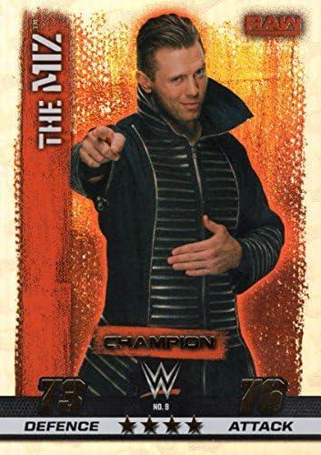 WWE SLAM ATTAX 10 - THE THE THE MIZ CHAMPION CARTES À COLLECTIONNER - LUTTE | Moderne Et élégant à La Mode  aedd23