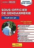 Concours Sous-officier de gendarmerie - Catégorie B - Tout-en-un - Externe, interne et 3e voie - Concours 2019-2020
