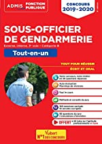 Concours Sous-officier de gendarmerie - Catégorie B - Tout-en-un - Externe, interne et 3e voie - Concours 2019-2020 de François Lavedan