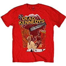 Official T Shirt DEAD KENNEDYS Punk Vintage Red Kill The Poor M