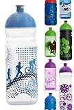 ISYbe Trinkflasche 700ml Radler/Sport transparent, schadstofffrei, spülmaschinengeeignet, auslaufsicher