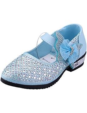 Kinder Ballerinas Mädchen Pinzessin Schuhe Mary-Jane-Halbschuhe - Tyidalin Rhinestone-Verschönerung Absatz Schuhe...