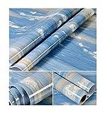 Glow4u Blue Ocean glänzend Marmor Granit Look Kontakt Papier Selbstklebendes Vinyl Film Küche Tisch Duett Arbeitsfläche Regal Liner 24von 497,8cm