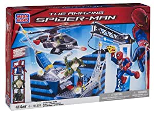 Megabloks - 91351U - Jeu de Construction - Spider-Man 4 - Affrontement sur la tour Oscorp