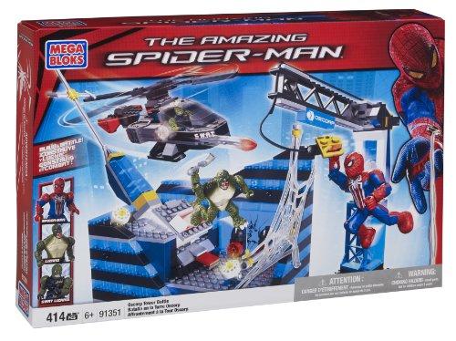 Mega Bloks 91351 Spiderman Batalla Torre Oscorp