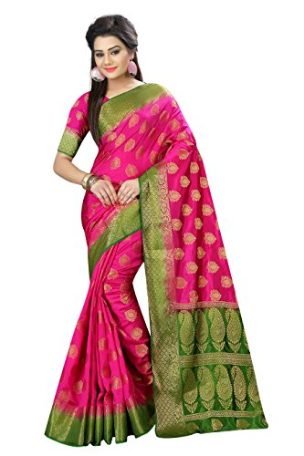 Belaton Silk Saree (AF-413to21_Pink_Free Size)