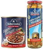 Halberstädter Linseneintopf + Halberstädter Premium Würstchen