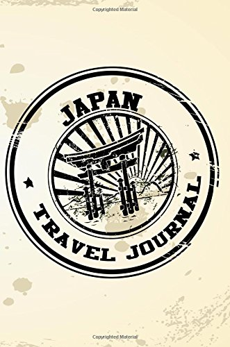 Japan Travel Journal: Blank Lined Vacation Holiday Notebook por Dartan Creations