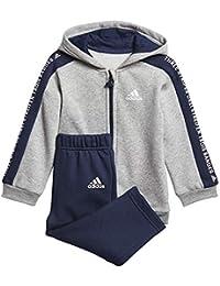 adidas - Ensemble - Bébé (garçon) 0 à 24 Mois Medium Grey Heather  342fd44708d