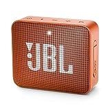 JBL GO2 Arancione - Speaker portatile waterproof con connettività Wireless Bluetooth, Vivavoce e Batterie ricaricabili integrate (JBLGO2ARANCIONE)