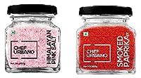 Chef Urbano Smoked Paprika Hot 100 Gms + Himalayan Pink Salt 200 Gms Combo