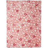 Mee Mee Double Layered Soft Baby Blanket With 3D Printing, Dark Pink