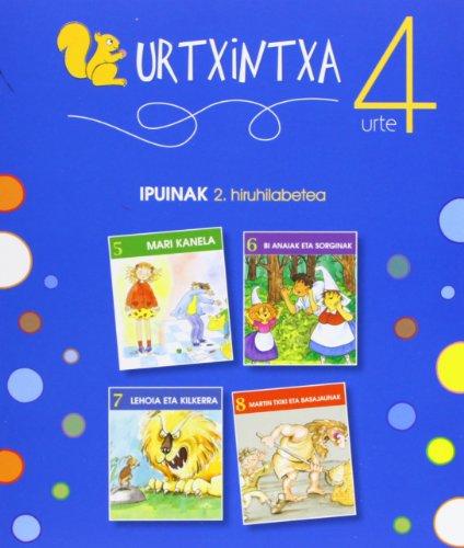 Urtxintxa 4 urte - 2. hiruhilabeteko ipuinak (5-8) por Batzuen artean