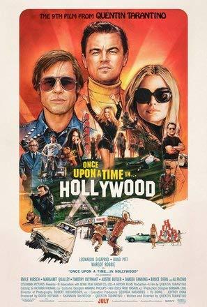 Once Upon A TIME IN Hollywood - Film Poster Plakat Drucken Bild - 43.2 x 60.7cm Größe Grösse Filmplakat