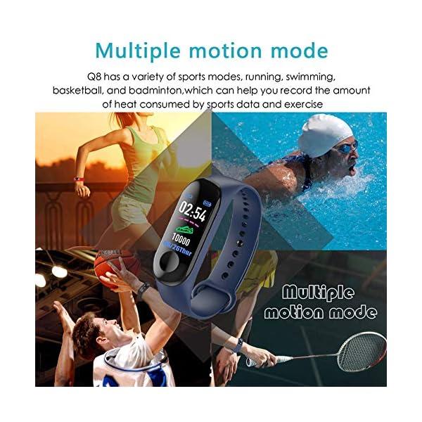 Aubess Pulsera Inteligente Fitness Tracker, M3, Pantalla táctil de Color, Impermeable, IP67, GPS, Monitor de sueño… 3