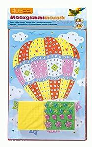 folia 23808-Musgo Goma Mosaico de Globos aerostáticos, 405Piezas