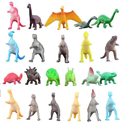 Figura de dinosaurio conjunto de 72 piezas de Juguete de Mini Dinosaurio Material de Seguridad. Todo tipo de Dinosaurio Plástico de Vinilo Juego de Juguetes de Dinosaurio del Mundo Zoológico para Chicos Adornos para Pasteles Favoritos para Fiesta Recursos de Aprendizaje.