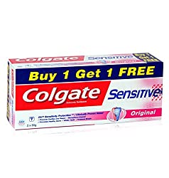 Colgate Sensitive Original Toothpaste - 80 g (Buy 1 get 1 free)