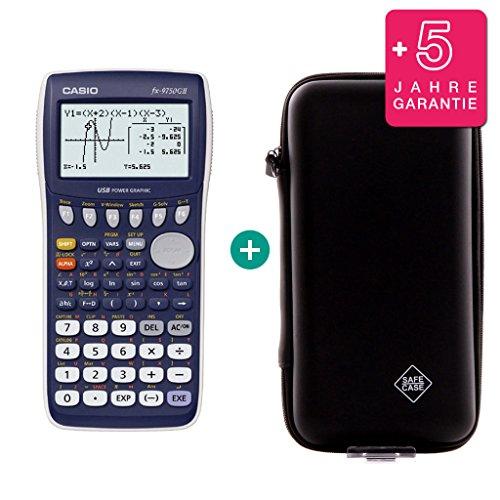 Casio FX 9750 GII + Erweiterte Garantie + Schutztasche