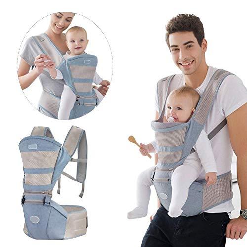 iBaste Babybauchtragen Babytrage Bauchtrage Baby Rückentrage Atmungsaktive für Neugeborene Kleinkinder (0-20kg)