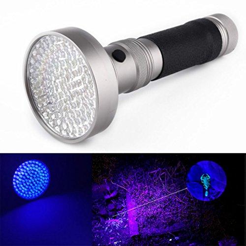 (Leistungsstark LED Blacklight Taschenlampe, starall 100LED UV-Licht 395–400nm violett Taschenlampe Erkennung Taschenlampe Leuchte Lampe)