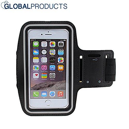 Sportarmband globalproducts [Universal Leichtgewicht] [Kristall klarer Bildschirm] Geschenk, Handy Armband Ultra Softes Armband Handy Halter...